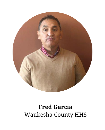 Headshot of Fred Garcia - member of the planning committee and part of Waukesha County Health and Human Services.